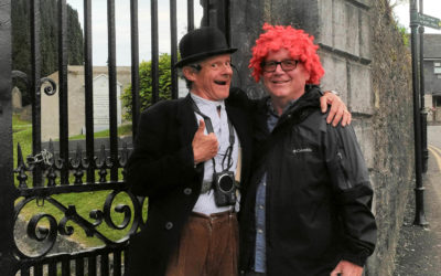 Week 19 – Ireland: Left Handed Shifting, Millie the Sheep, & A Red Wig